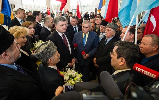 Порошенко призвал Турцию признать депортацию крымских татар геноцидом