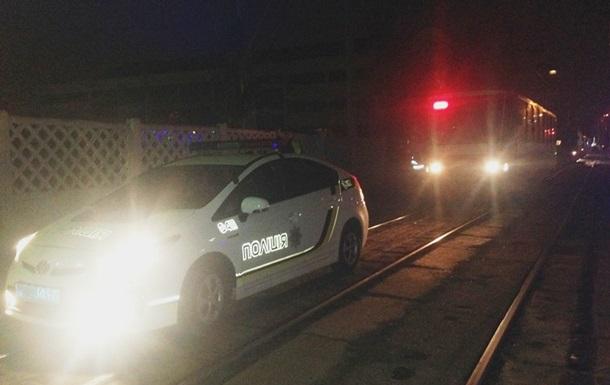 В Киеве поймали пьяного водителя трамвая