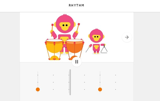 Google представил музыкальные инструменты для браузера