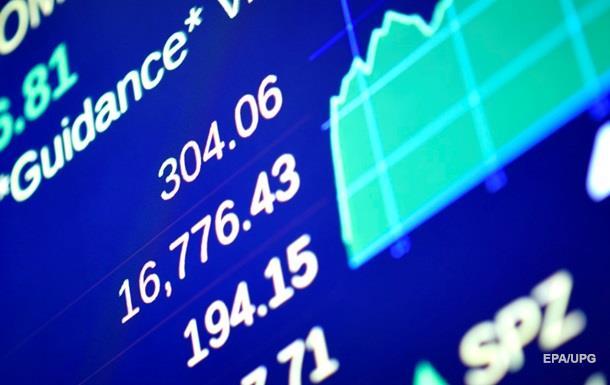 Вартість індексів впала в ході торгів на біржах США