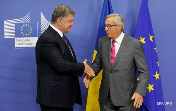 Порошенко и Юнкер обсудили безвизовый режим