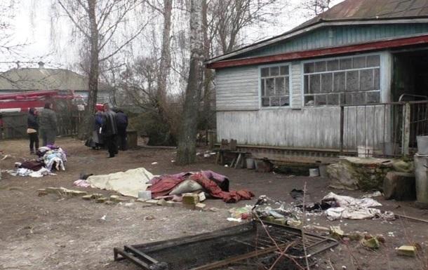 В Черниговской области при пожаре погибли три человека