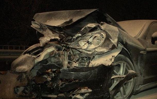 Зам Кличко попал в аварию