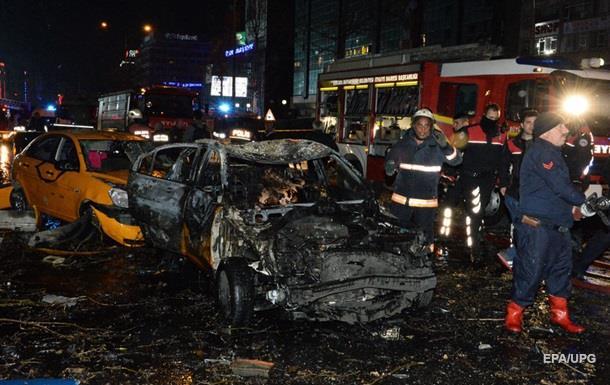 В Анкаре мощный взрыв, есть жертвы
