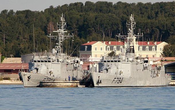 Украинские курсанты постажируются на военных кораблях Франции