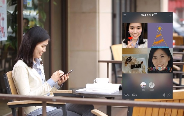 Samsung запустил конкурента Instagram и Snapchat