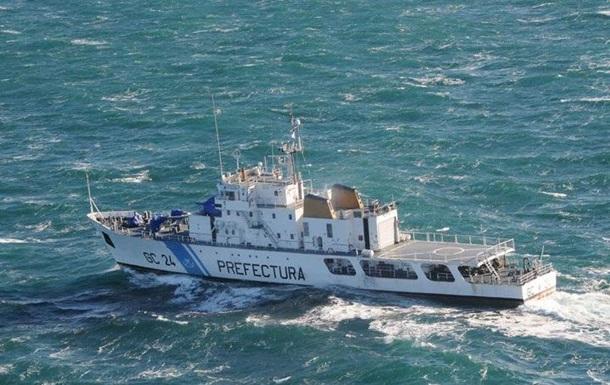 Аргентинские пограничники потопили китайское рыболовецкое судно