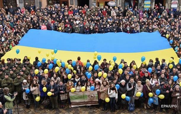 Украина опустилась в рейтинге счастливых стран