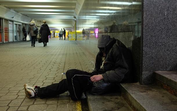 Жители без жилья. Число бомжей в Киеве выросло на 20%