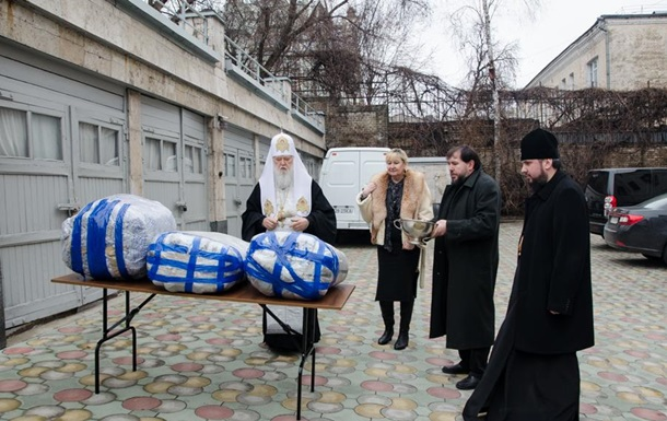 В УПЦ КП массово продавали гуманитарку для Донбасса