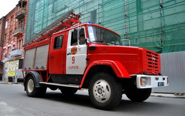 В Харькове горят казармы Нацгвардии