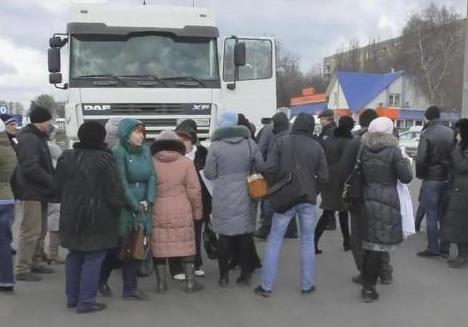 В Полтаве на 4 часа была заблокирована трасса государственного значения.