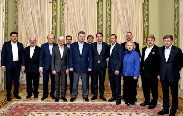 Порошенко обговорив реформи з  друзями  України