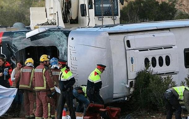 ДТП в Испании: погибли 14 студентов