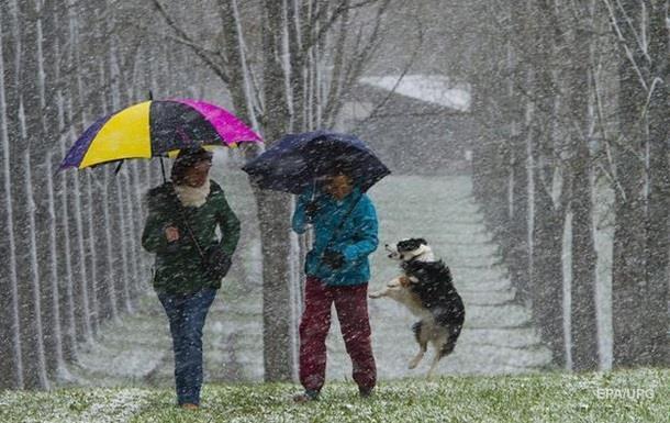 Украину еще всю неделю будет засыпать снегом