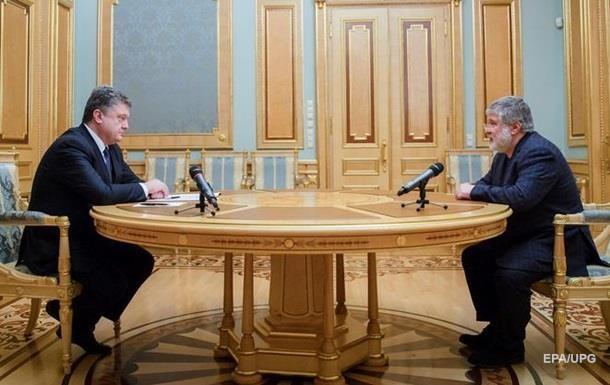 У Порошенко отрицают  тайную  встречу с Коломойским
