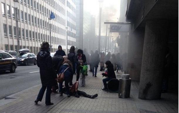 В метро Брюсселя произошли взрывы
