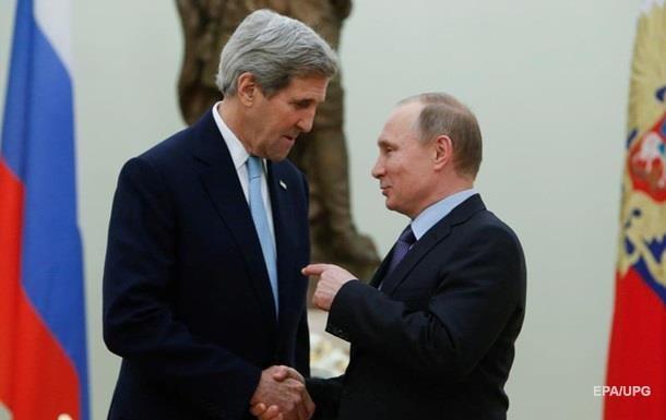 Путин и Керри на встрече обсудят Украину