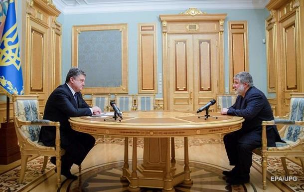 У Порошенко подтвердили две встречи с Коломойским