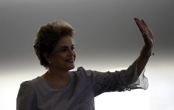 Президент Бразилии сравнила импичмент с попыткой переворота
