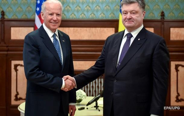 Порошенко и Байден говорили о Савченко