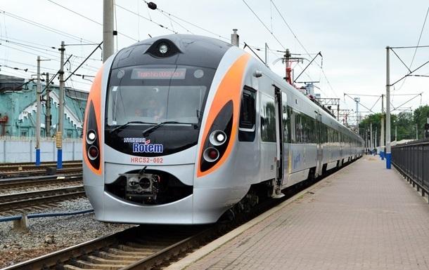Под Киевом остановили поезд из-за угрозы взрыва