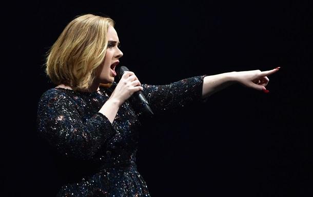 Адель заспівала в пам ять жертв терактів у Брюсселі
