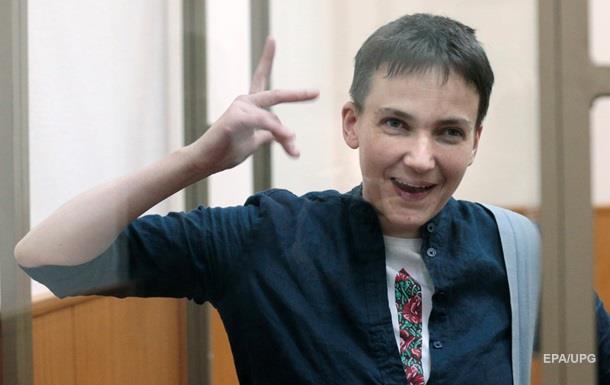 Савченко приговорили к 22 годам колонии в России