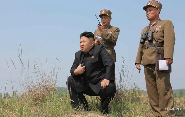 Северная Корея испытала твердотопливный ракетный двигатель