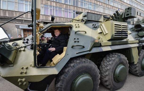 Итоги 23 марта: Порошенко в БТР, аресты в Брюсселе