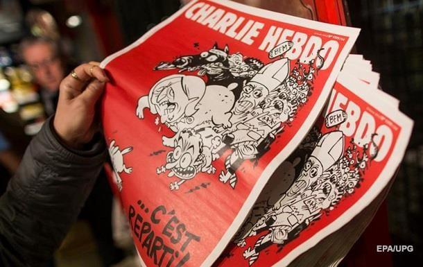 Charlie вышел с карикатурой на теракты в Брюсселе