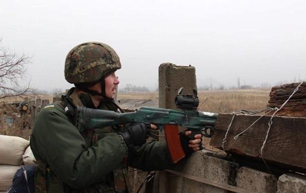 В зоне АТО за сутки пострадали шесть военных
