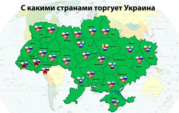 Продажи онлайн. Какие регионы Украины активно торгуют с Россией