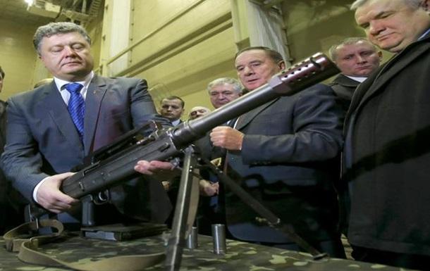 Военная одержимость Порошенко