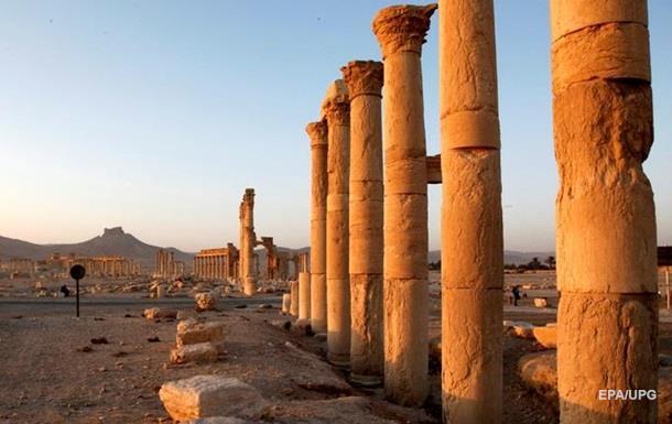 Пальмира после ИГИЛ древний город с коптера