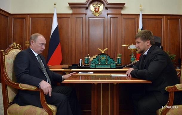 Путин сделал Кадырова и.о. главы Чечни
