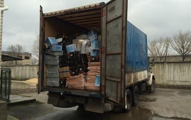 В ЛНР не пустили товары на миллион гривен
