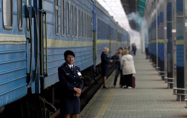 Украинские поезда переходят на летнее время