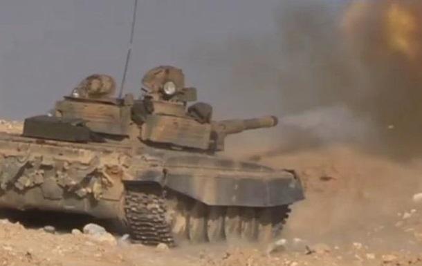 В сирийской Пальмире идут ожесточенные бои