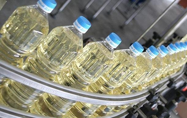 В Украине повысилось производство растительного масла