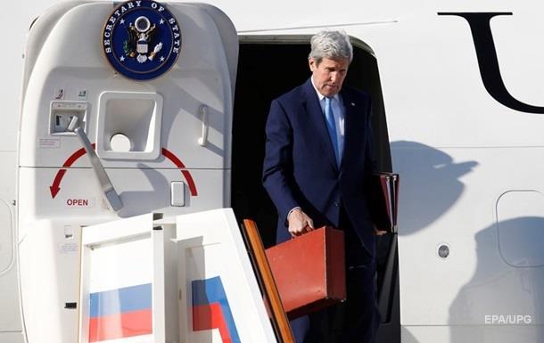 США не видят угрозы для себя в действиях России в Сирии – Керри