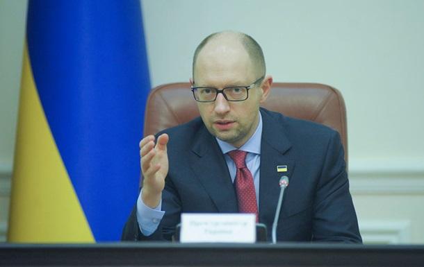 Яценюк: Альтернативы программы правительства нет