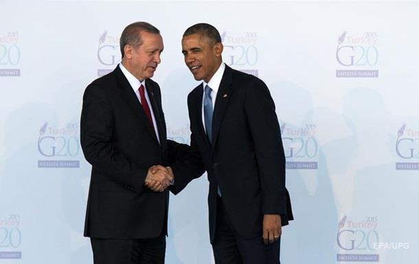 Обама отказал Эрдогану в личной встрече - WSJ