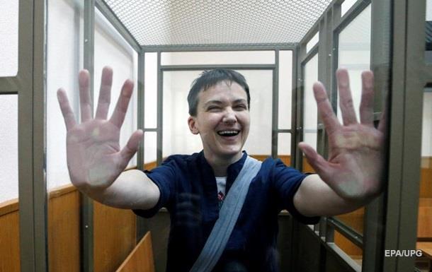 Россияне против выдачи Савченко Украине - опрос