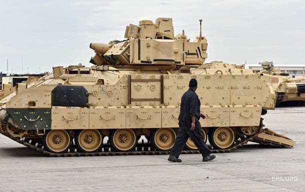 США разместят больше танков в Восточной Европе