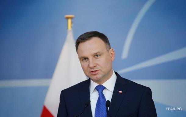 Президент Польши: Россия должна уйти из Крыма
