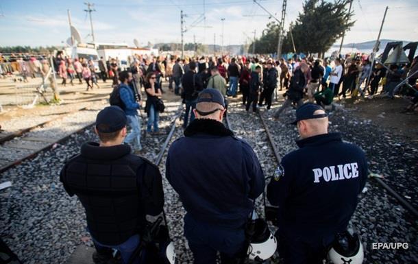 В Греции подрались полтысячи беженцев
