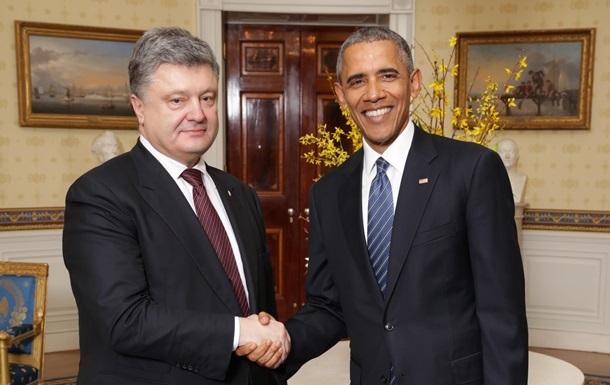Обама пообещал Киеву миллиард после смены Кабмина