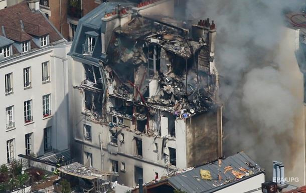 Взрыв в Париже: выросло число пострадавших