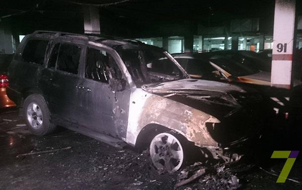 На паркинге в Одессе прогремел взрыв
